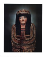 Mummy Case of Lady Teshat Fine Art Print