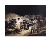 Execution of Rebels of the 3Rd O Fine Art Print