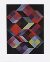 Tridem K Framed Print