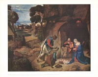 Adoration of the Shepherds Fine Art Print