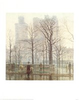 Rainy Day in the City Fine Art Print