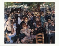 Ball At the Moulin De La Galette Fine Art Print