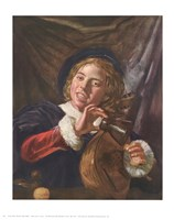 Boy with a Lute Fine Art Print