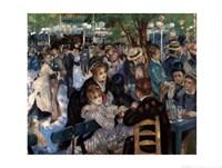 Le Moulin De La Galette Fine Art Print
