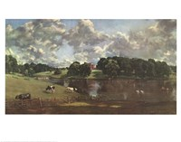 Wivenhoe Park Essex Fine Art Print