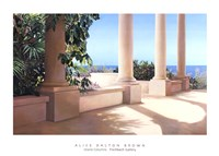 Island Columns Fine Art Print