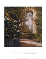 Garden Door, Broughton Castle Fine Art Print