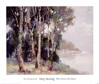 Misty Morning Fine Art Print