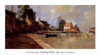 """Morning Harbor by Ted Goerschner - 39"""" x 22"""""""