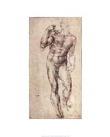 Standing Male Nude Fine Art Print