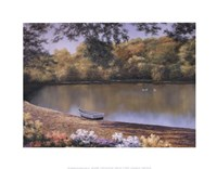 """Golden Pond by Diane Romanello - 14"""" x 11"""""""