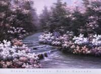 River Cascade Fine Art Print