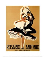 Rosario & Antonio, 1949 Fine Art Print