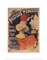 Pastilles Poncelet Fine Art Print