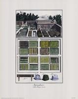 "Garden II by John Singer Sargent - 11"" x 14"""