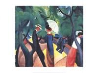 Promenade Fine Art Print