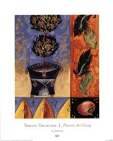 "Topiary Treasures I by Liz Jardine - 16"" x 20"""