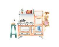 "Cookin' with Kilowatts by Lisa Danielle - 10"" x 8"""