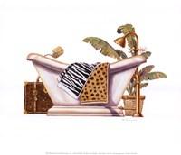Safari Soak Fine Art Print