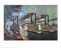 Champions of the Mississippi Framed Print