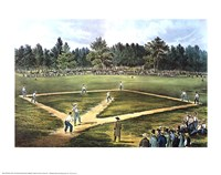 National Game of Baseball Fine Art Print