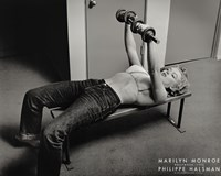Marilyn Monroe, Hollywood (with weights), c.1952 Framed Print