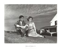 Jack and Jackie, 1953 Fine Art Print