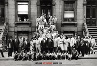 Jazz Portrait - Harlem, 1958 Framed Print