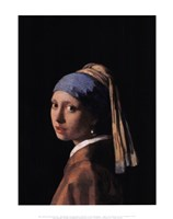 "Girl with a Pearl Earring, 1665 by Johannes Vermeer, 1665 - 11"" x 14"""