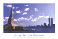 "Stand Tall for Freedom by Steve Vidler - 36"" x 24"""