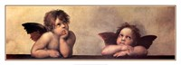 The Cherubim Putti Angels of The Sistine Madonna, c.1514 Fine Art Print