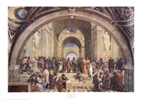 The School of Athens, c.1511 Framed Print