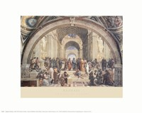 The School of Athens, c.1511 Fine Art Print