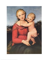 The Small Cowper Madonna, c.1505 Fine Art Print