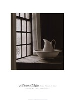 Water Pitcher and Bowl Fine Art Print