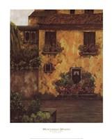 Summer Villa Framed Print