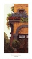 Verona Balcony I Framed Print