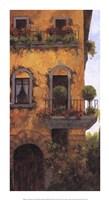 Verona Balcony II Fine Art Print