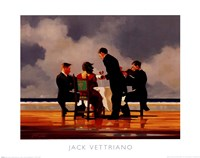 "Elegy for a Dead Admiral by Jack Vettriano - 20"" x 16"""