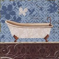 Eco Motif Bath I Fine Art Print