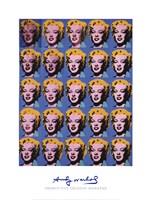 Twenty-Five Colored Marilyns, 1962 Fine Art Print