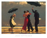"The Singing Butler, 1992 by Jack Vettriano, 1992 - 20"" x 16"""