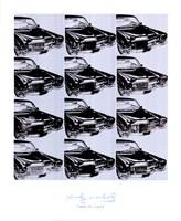 Twelve Cars, 1962 Fine Art Print