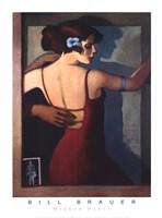"""Mirror Dance by Bill Brauer - 26"""" x 36"""""""