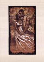 Whisper (24 x 34) Framed Print