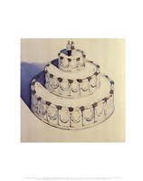 Wedding Cake 1962 Fine Art Print