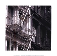 Fire Escape Fine Art Print