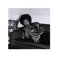 Jimi Hendrix, London, England, 1967 (small) Fine Art Print