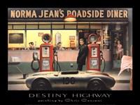 Destiny Highway Framed Print