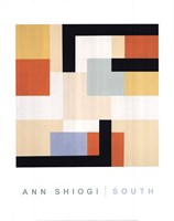 "South by Ann Shiogi - 22"" x 28"""